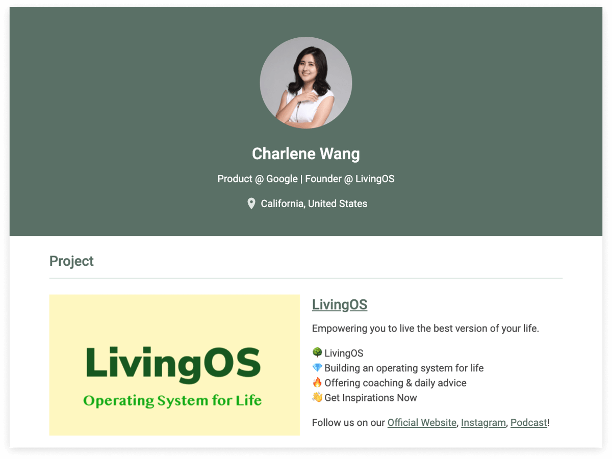 LivingOS, 作家, 人生教練, 教練, coaching, Life Coach, Side Project, APM, Google